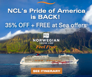 $250 OFF Hawaii Cruises with Norwegian Cruise Line
