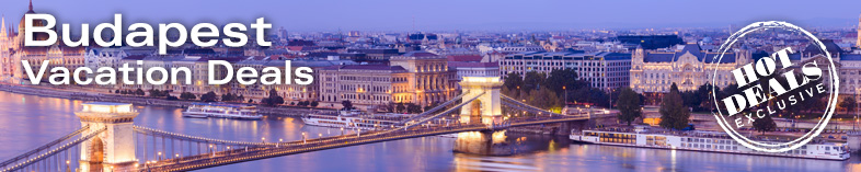 Chain Bridge and Parliament building in Budapest, Hungary at twilight