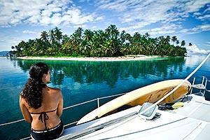 Panama boat ride