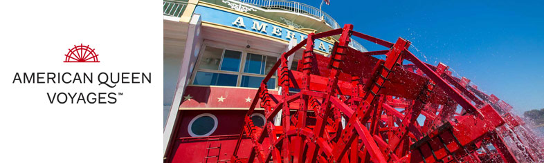 Paddle Wheel American Queen Steamboat