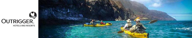 Kyaking in Kauai
