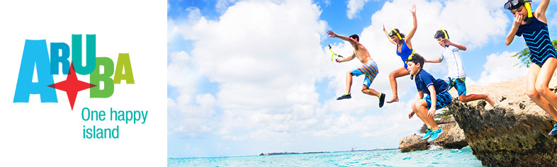 Aruba Kids Jumping