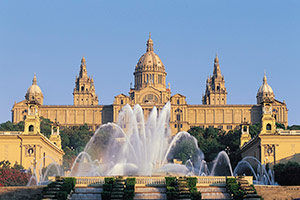 Montjuic Palace, Barcelona, Spain