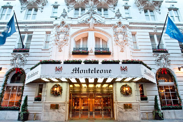 Image result for Hotel Monteleone in The French Quarter.