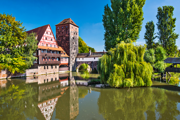 Executioner's bridge, Nuremberg, Germany