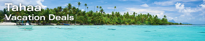 Off the shores of Tahaa, Tahiti