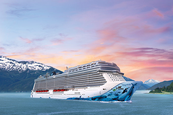 Norwegian Bliss Ship, Alaska