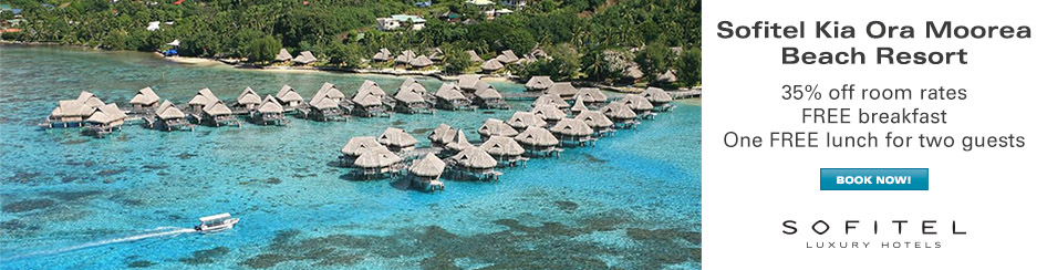 Sofitel Moorea Ia Ora Beach Resort, Tahiti - 30% OFF Room Rates