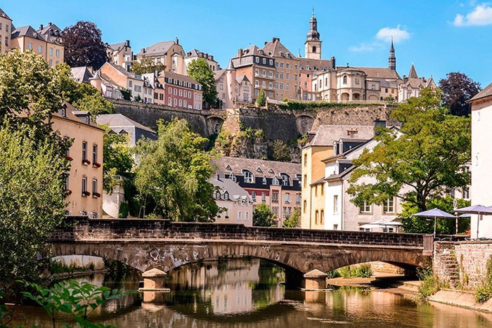 Luxembourg, historical architecture