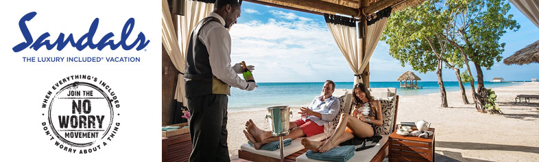 Sandals Resorts - All Inclusive Butler Service