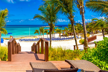 Beach Cabana, Great Stirrup Cay, Bahamas