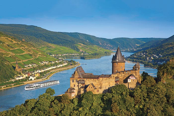 Crusing in the Rhine Valley