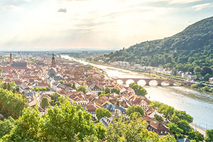 Historic town on the Rhine