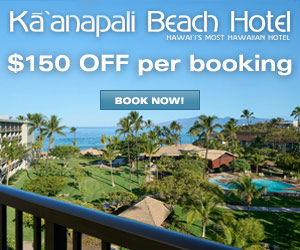 Kaanapali Beach Hotel, Maui - $100 OFF per booking