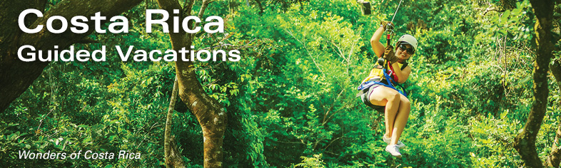 Costa Rica Escorted Tours - Ziplining