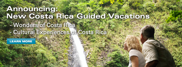Costa Rica Guided Vacations