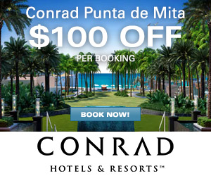 Conrad Punta de Mita - Up to $200 OFF per Booking