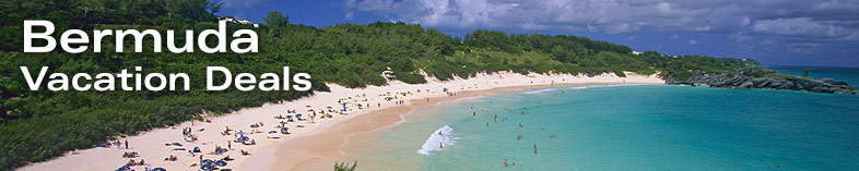 Bermuda beach Panoramic view