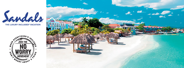 Sandals Resorts Vacation Packages