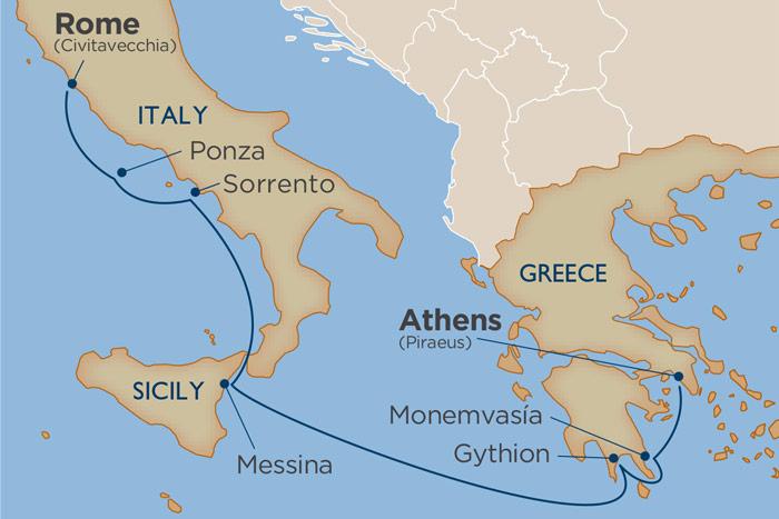 Windstar Cruise (Enchanting Greece & Amalfi Coast | Athens to Rome)
