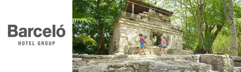 Barcelo - Children Playing in Ruins