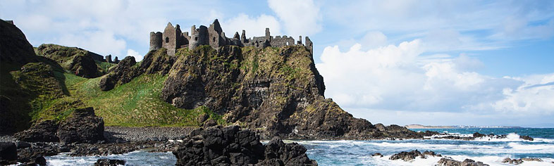 Dunluce castle, county Antrim Northern Ireland