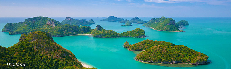 Angthong islands, Thailand