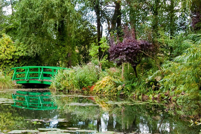 gardens at Giverny, France