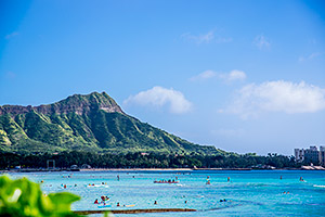 Diamond Head, Waikiki, Oahu