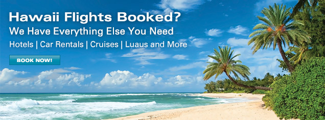 You've Got Your Flights - We Have Everything Else You Need