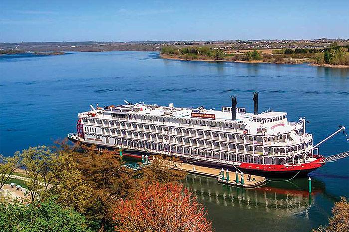 Docked in Richland, Washington