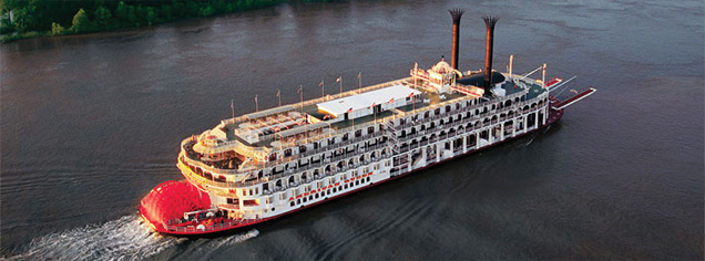 Cruise Vacations - Mississippi River Cruise