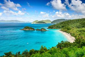 Trunk Bay, St John, United States Virgin Islands