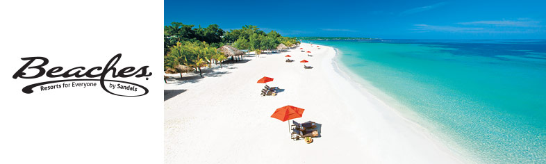 Peaceful beach scene, Beaches Resorts