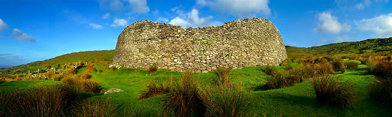 Ancient stone fort, Kerry, Ireland