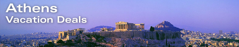 Panoramic view of the Parthenon, Athens, Greece