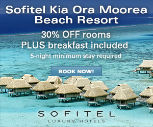 Sofitel Kia Ora Moorea Beach Resort - 35% OFF Room Rates