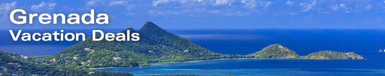 View of Hillsborough and its beautiful bay, Grenada
