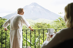 View of the Arenal Volcano, Costa Rica