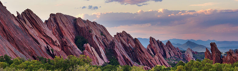 Sunset at Roxborough State Park, Colorado