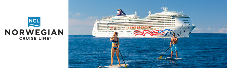 Paddle Boarders, Norwegian Cruise Line Hawaii