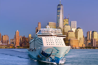 Norwegian Dawn, New York